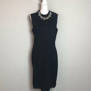 SIENA STUDIO classic career black sheath dress